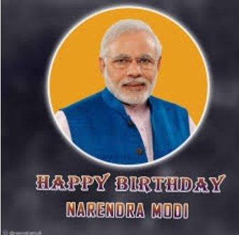 Wishing our Prime Minister Narendra Modi Ji a very happy 70th birthday!