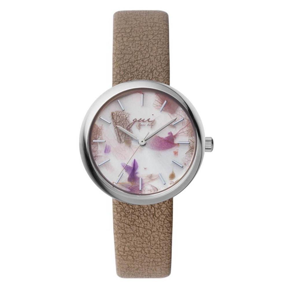 「スピカ」本物の花びらを文字盤にとじこめた新作腕時計、グイ フラワーデザインとコラボ -