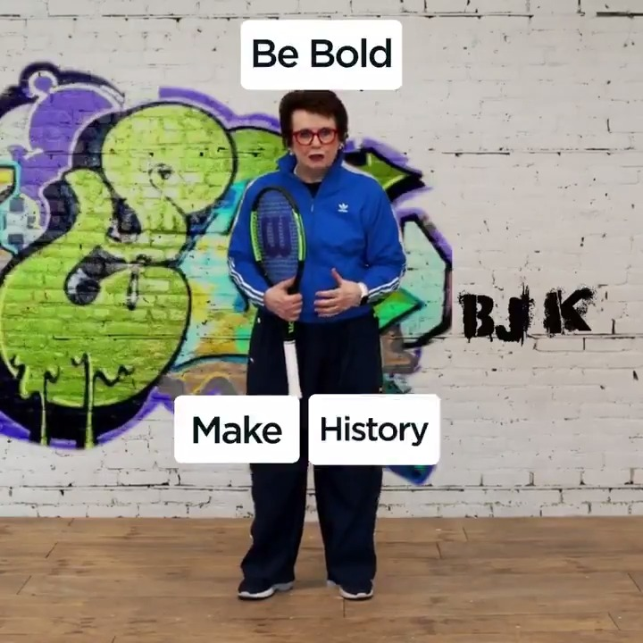 Pioneer, activist, icon. Be more Billie. 👊  We are proud to say that Fed Cup is now the Billie Jean King Cup  #BillieJeanKingCup https://t.co/cHlrVbeTvp