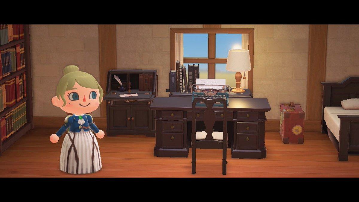 明日から『劇場版 ヴァイオレット・エヴァーガーデン』が公開されるということでヴァイオレットちゃんのお洋服デザインしました💐(本当はだいぶ前...😂)#あつ森 #マイデザイン #どうぶつの森 #ACNH