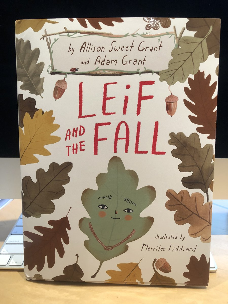That pile of discarded ideas? They're not failures. They might save your life. Just ask Leif, the botanical protagonist of the latest childrens book from Allison Sweet Grant & @AdamMGrant. Its a great parable about creativity and courage. penguinrandomhouse.com/books/610621/l…