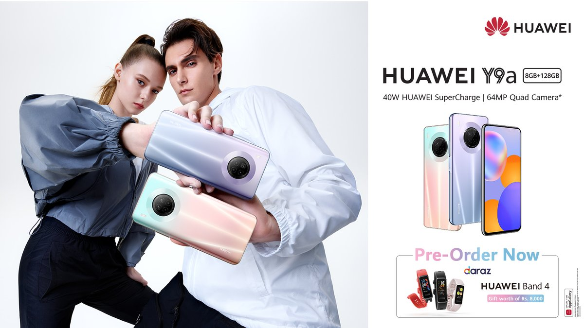 HUAWEI Y Series Hit a New High with the Midrange King HUAWEI Y9a - Now Open for Pre-orders https://t.co/u5CWBFqnA7 https://t.co/bbGdISDQVg