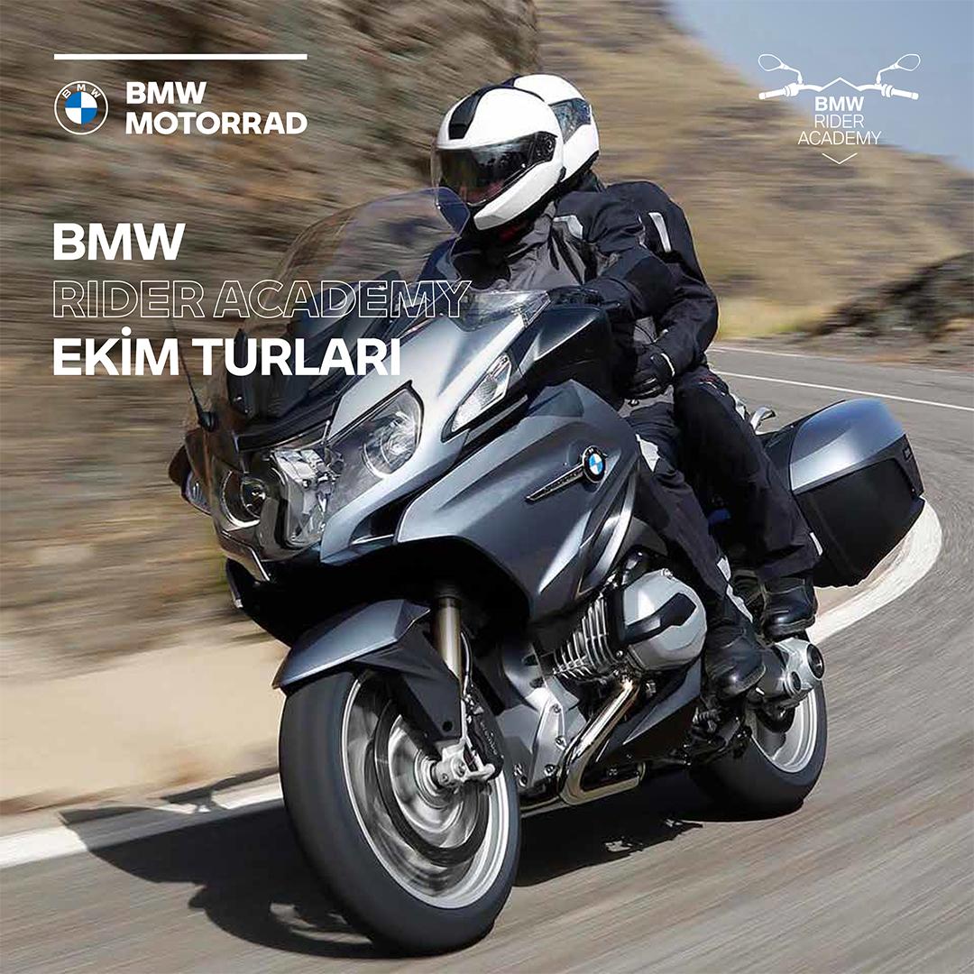 BMW Rider Academy Ekim'de de turlarına devam ediyor. Eşsiz doğası, muhteşem manzaralara ve virajlara sahip motosiklet rotaları, mavi bayraklı plajları, antik çağ kentleri, butik otelleri ve enfes lezzetleri ile unutulmayacak bir Akdeniz Turu sizleri bekliyor. #BMWMotorradTürkiye https://t.co/IV8FbnkZEL