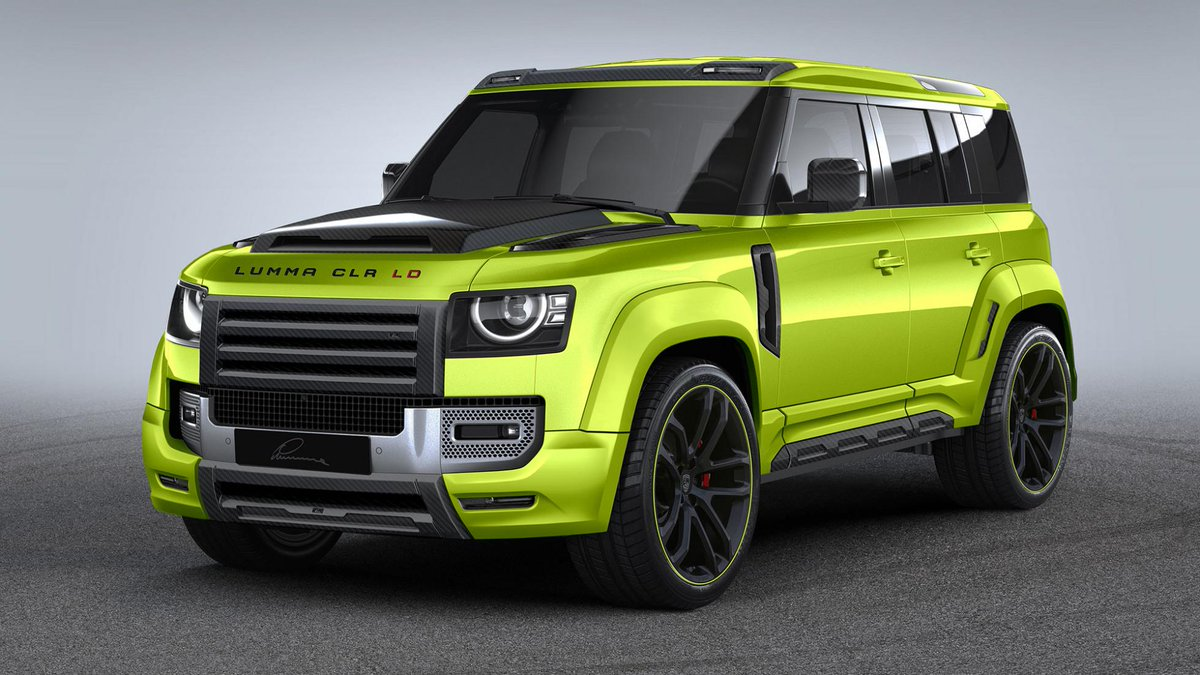 Prepare yourselves: it's Lumma Design's Land Rover Defender. German tuner gives the Defender a makeover. You know what to expect → https://t.co/YYwFO3TxHF https://t.co/FxZ2mbV6N9
