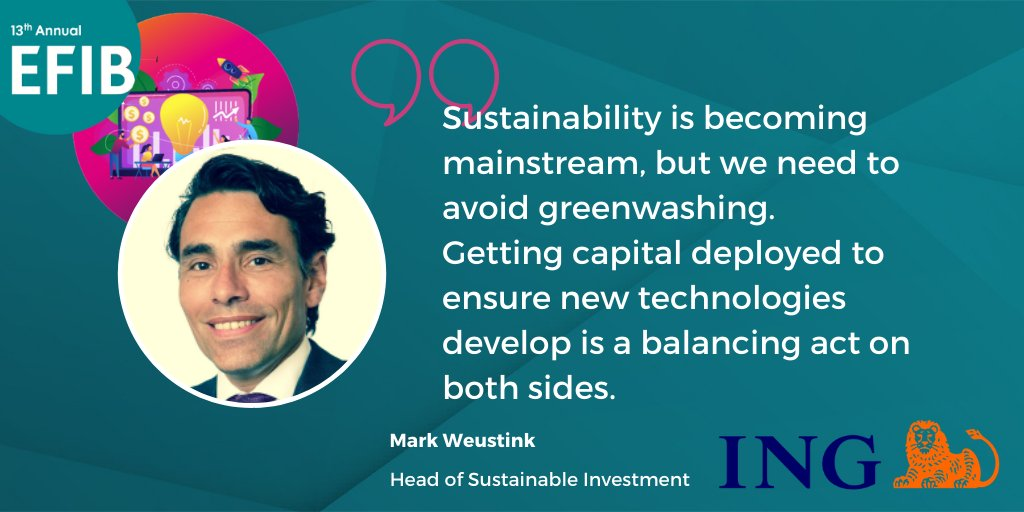 test Twitter Media - Will #sustainable #financing be a long-term trend? Mark Weustink from @ING_news shared his insights during today's webinar. #efib2020 #SustainabilityDialogues https://t.co/USXLiaHBPg