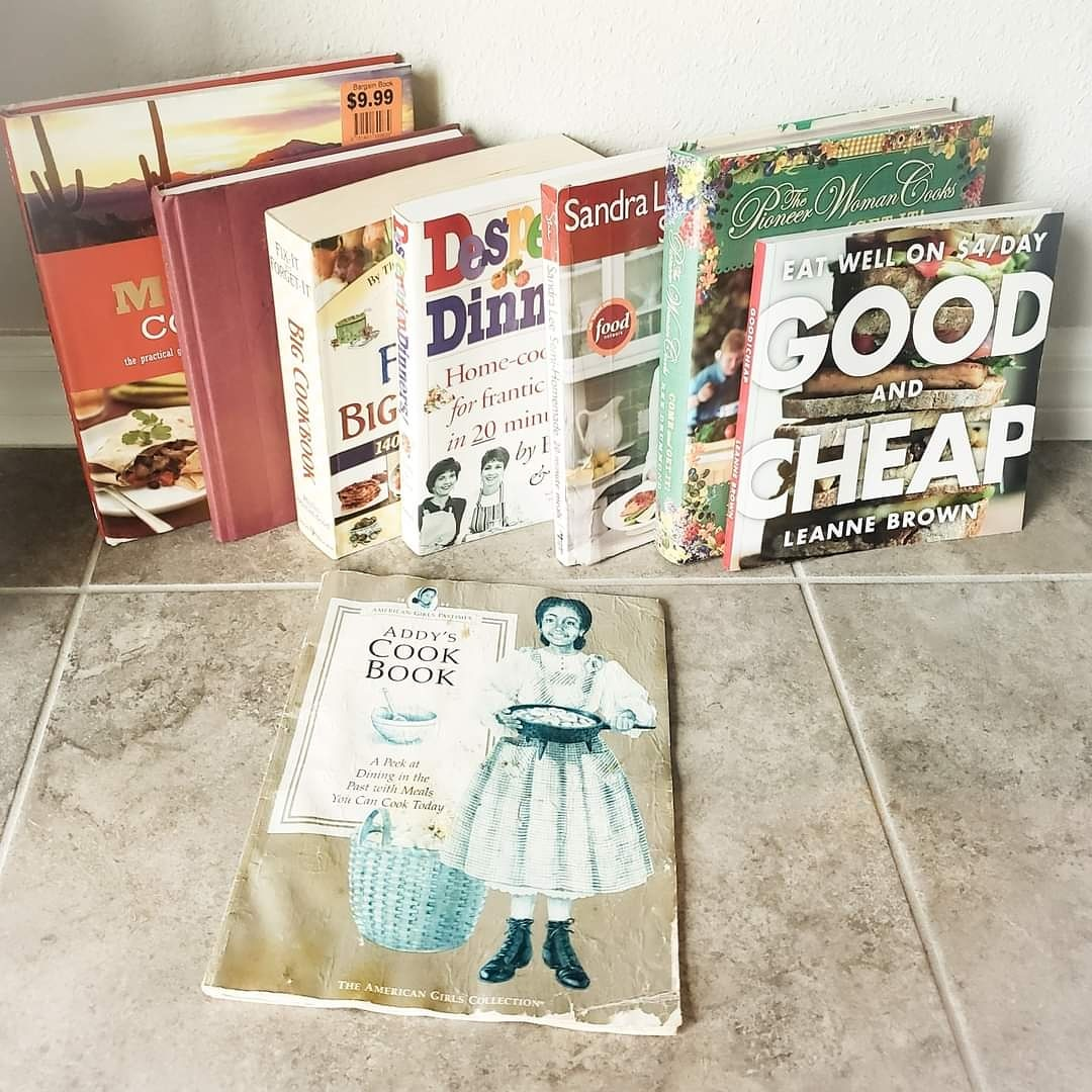 Here are just a few of my go-to cookbooks.  Addys Cookbook, was one of my firsts. It was the story of Addy's post-slavery lessons in the kitchen. In it, all the southern dishes every young Black girl was taught by the generations of women who came before her.  #ThursdayThoughts https://t.co/DGsJSalJeZ
