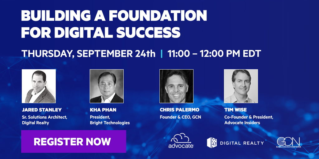 In one week, we'll be talking all things  #DigitalTransformation. Join us next Thursday, September 24th for a virtual roundtable discussion #DigitalTechTalks https://t.co/Nuw2pExd4x https://t.co/S1LPtyK3fs