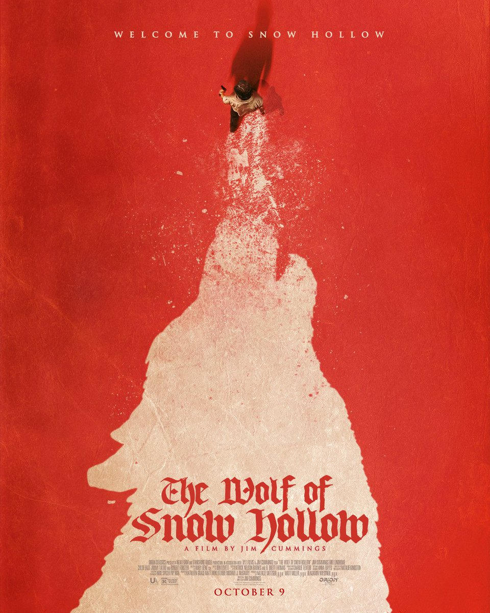 The Official Poster! #thewolfofsnowhollow