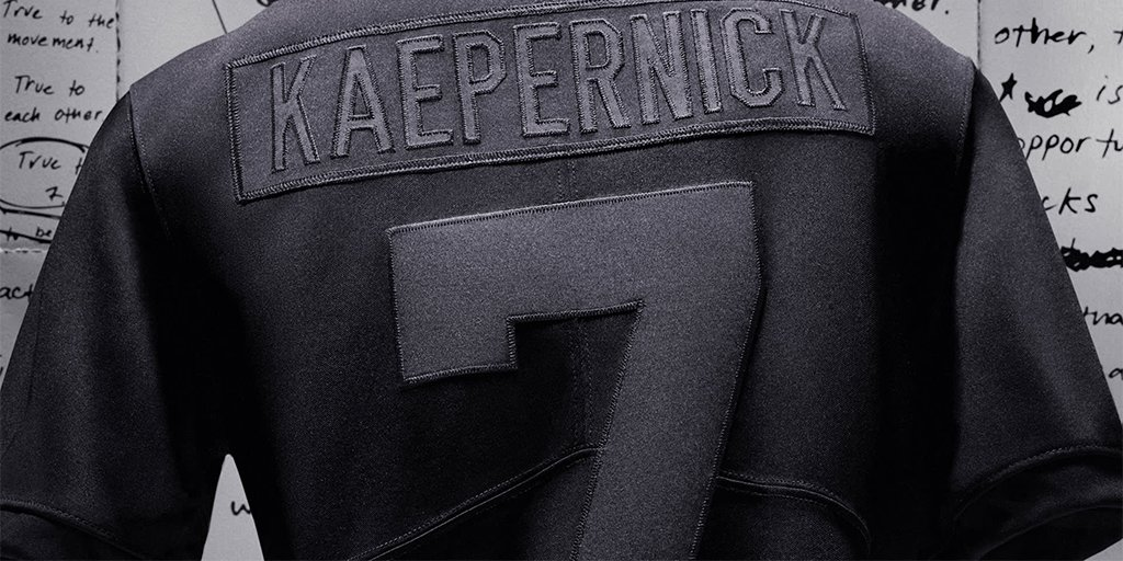 True to each other. True to the movement.  The 'Kaepernick' Icon 2.0 Jersey.  Available at 10am ET 🇺🇸  Shop: https://t.co/mLdLEMer0T https://t.co/uf14z4zsXm