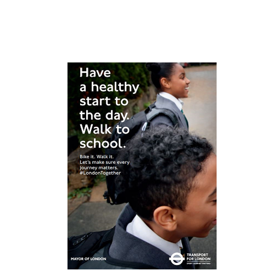 Walking to school can improve children's physical fitness, improve concentration levels at school and has environmental benefits.  Walk to school! #getmoving #keepmoving #stayactive #schoolstreet @EalingCouncil @EalingLearning @TfL https://t.co/FBdFRqoo2V