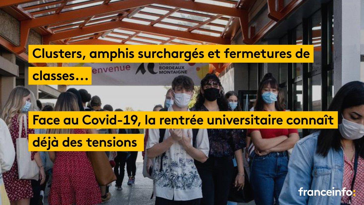 Toulouse, Montpellier, Rennes, Lille, Lyon, Strasbourg ou encore Nantes...   Partout sur le territoire, les universités et les grandes écoles sont confrontées à la multiplication des cas de #coronavirus alors que la rentrée étudiante débute à peine.  https://t.co/xssqRXZpcJ https://t.co/W2MWSKgf9f