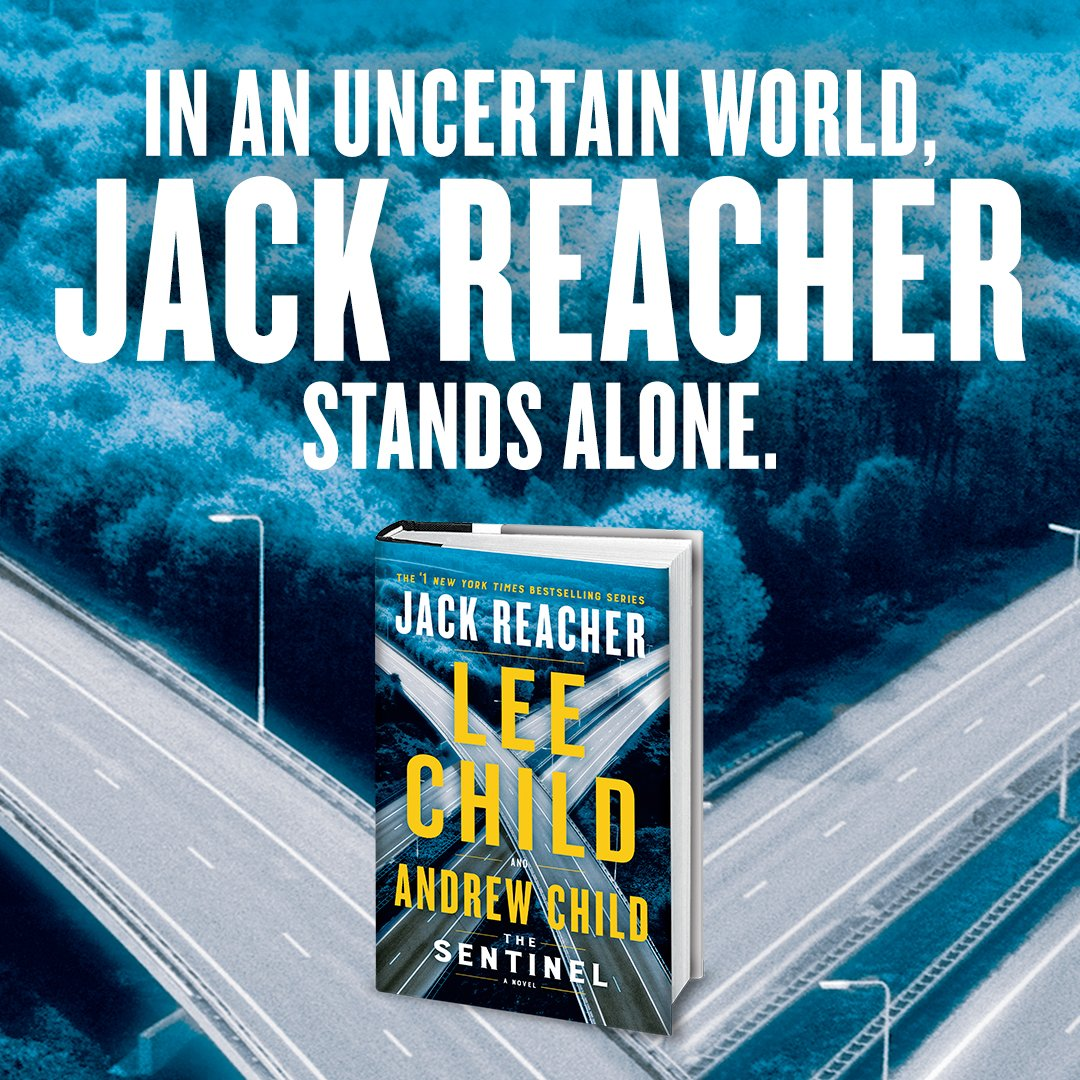 Reacher returns October 27th. Are you ready? >> smarturl.it/TheSentinel <<