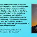 Image for the Tweet beginning: 3/5 New Books: Astrobiology, Discovery,