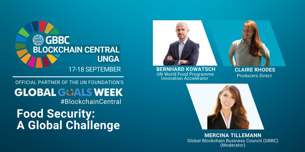 Coming up in 20 minutes: Food Security: A Global Challenge with @BKowatsch, @clairelrhodes, and @Mercinatd https://t.co/hDaUwIdfMy