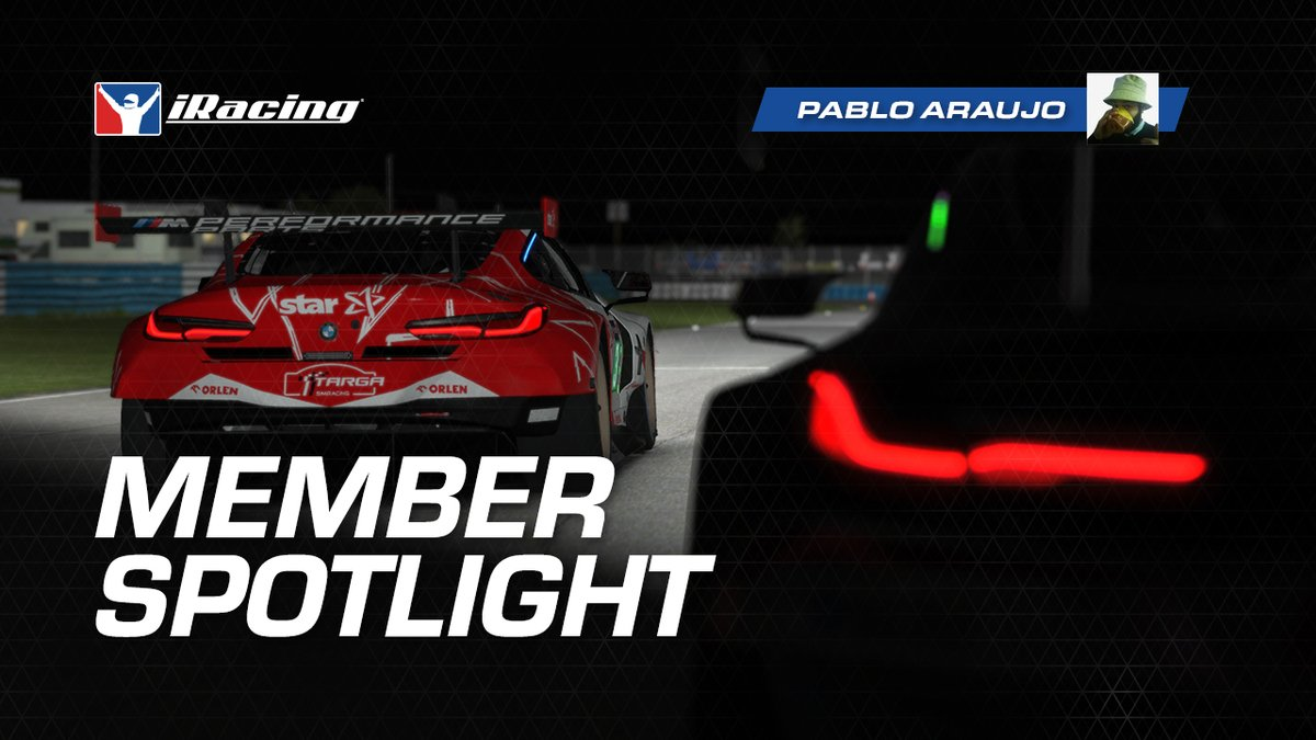Hop on-board with Pablo Araujo as he fights for the last step of the podium in the closing minutes at Sebring.  Full video here: https://t.co/BkQbd0uHDy https://t.co/hNp4gHheUF