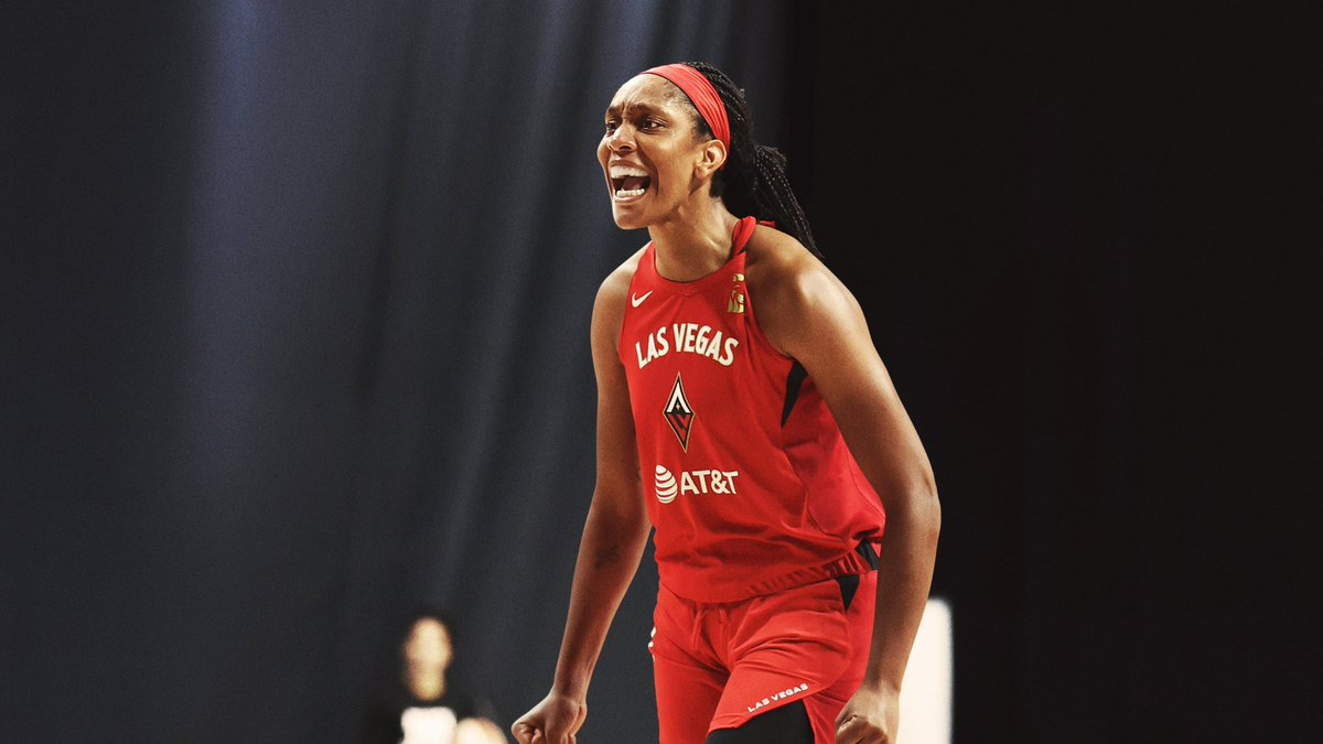 Build your legacy on a foundation that elevates others.  Congrats to @_ajawilson22 on earning her first @WNBA MVP award. https://t.co/klN3mR0Mlm
