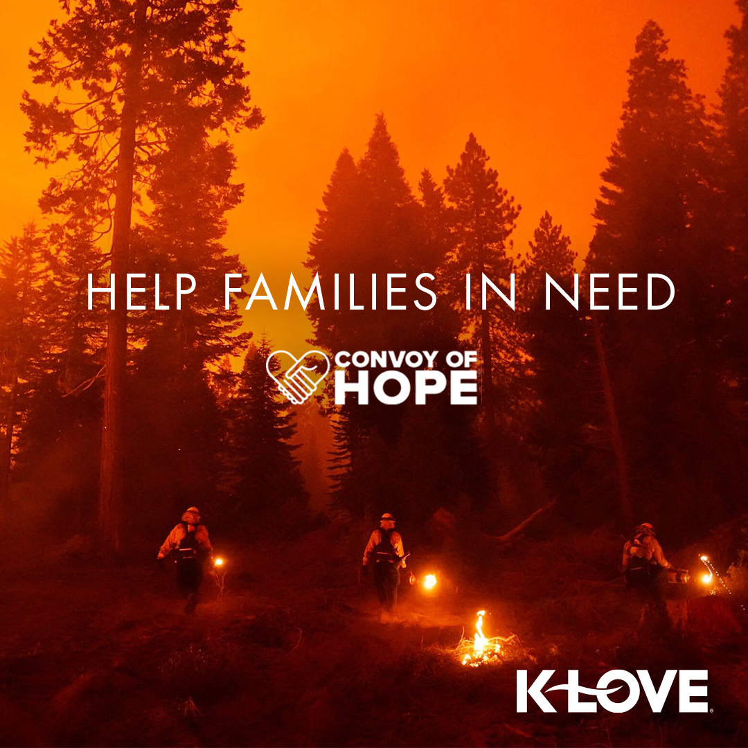 We are praying daily for those affected by the wildfires along the west coast! 🙏 We've partnered with @ConvoyOfHope to bring relief to those dealing with evacuations and lost homes. Give now to help provide essential supplies! https://t.co/2pfXUUMsBj https://t.co/I8OHfhBrMI
