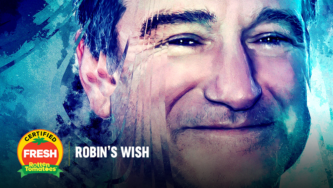 #RobinsWish is officially #CertifiedFresh at 88% on the #Tomatometer, with 40 reviews: https://t.co/CxztYKR6VM https://t.co/F8RMqj5DbP