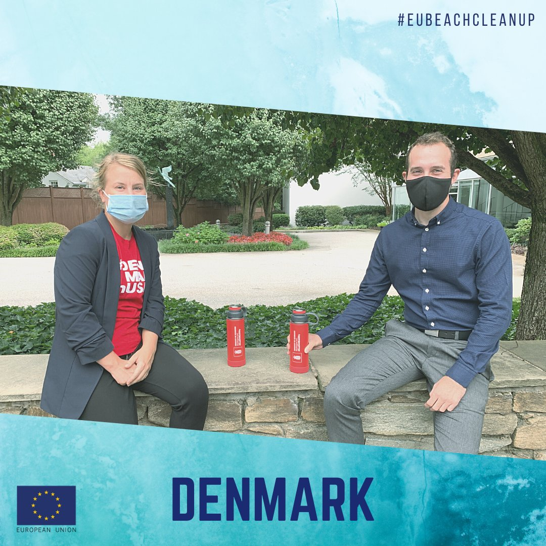 How are EU Member States keeping DC green & clean?  @DenmarkinUSA launched a new initiative: To decrease its CO2 output, employees are using reusable water bottles to avoid single-use plastic & lead toward a more sustainable world.  #EUBeachCleanup #SusDANEability https://t.co/xzuX0V3TtD