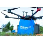 Image for the Tweet beginning: Walmart Launches On-Demand Drone Delivery