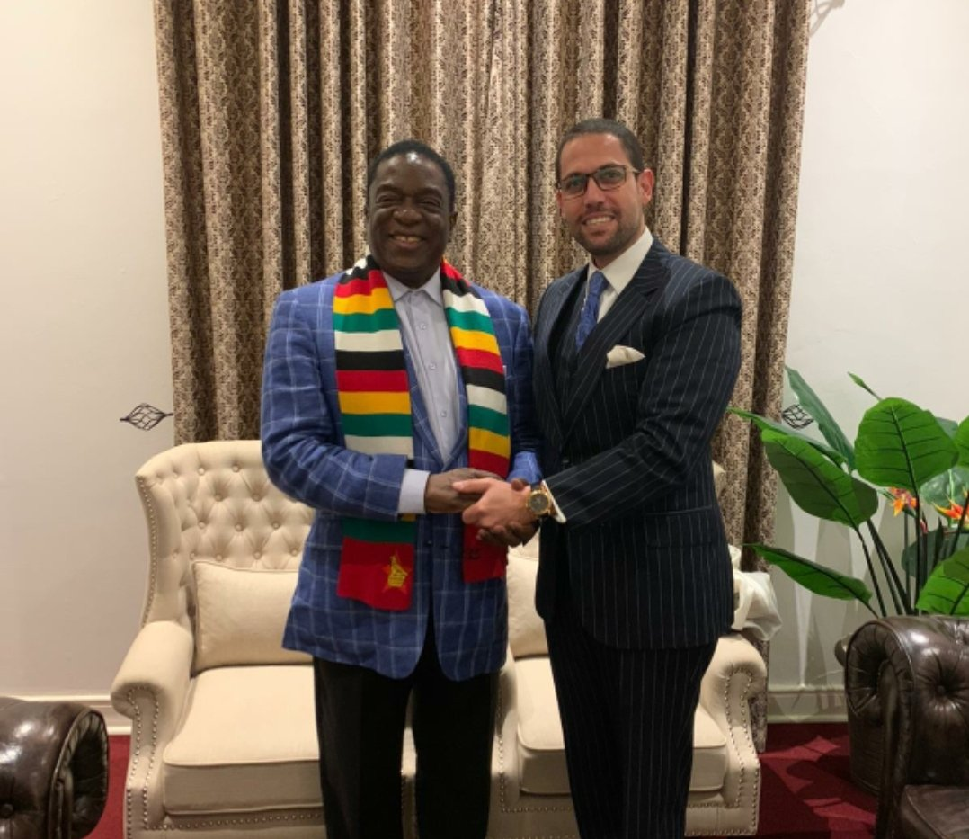 Happy Birthday Your Excellency Emmerson Mnangagwa. Watch the greetings video from Israel youtube.com/watch?v=V5sLXn…