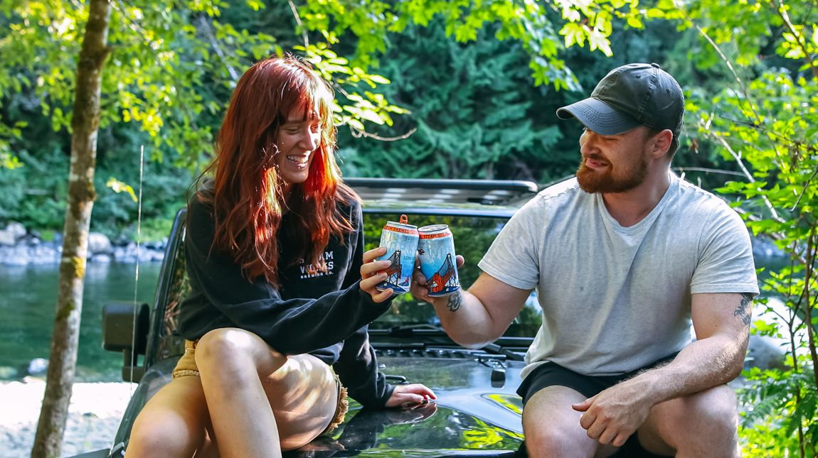 Cheers to enjoying some tasty brews and good times. Spending some quality time with the ones you love? Why not indulge in some of your favourite steam brews. Pick up a 12 pack or 8 pack at our Taproom or select liquor stores. 🧡 🌲 #buybc #beerlovers #craftbeerbc https://t.co/72VCm7SIzr