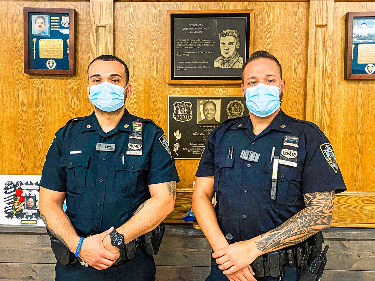 Proud of PO's Ramirez & Garcia who fearlessly nabbed the wanted gunman from a midtown shooting. Your cops are out here, everyday, seeking justice for crime victims. https://t.co/vSNiXG0Udj https://t.co/8tQfiXDMcP