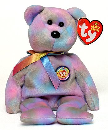 """Clubby VII the bear.  Birthday: September 17, 2006. """"Club members from both here and there Love each and every Clubby bear And as I'm sure you could have guessed Our Clubby VII is the best !"""" https://t.co/EVtLyioKn3"""
