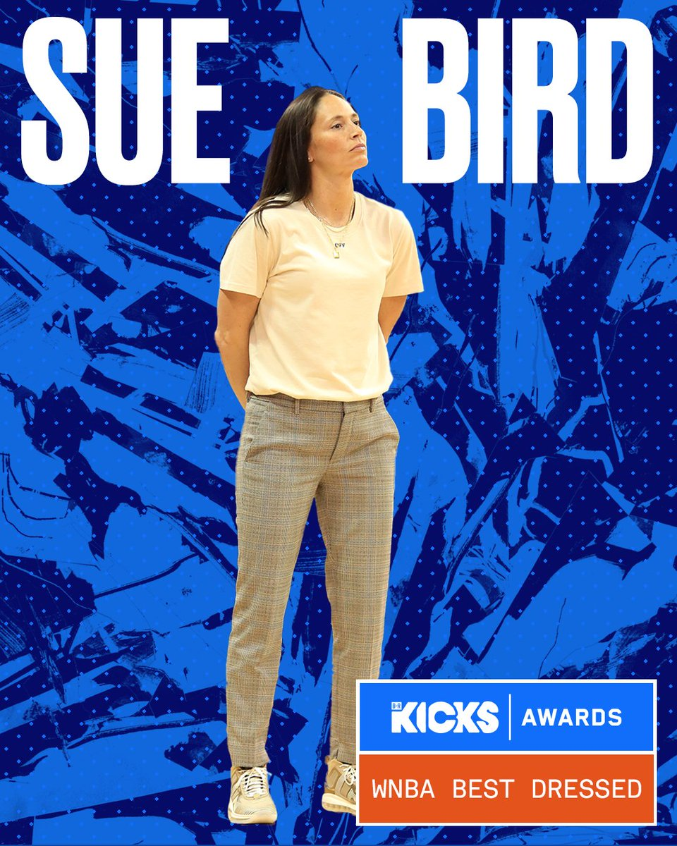 The first ever B/R Kicks WNBA Best Dressed Award goes to @S10Bird 🏆