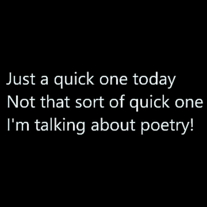 A Quick One  #poetry #shortpoems #micropoetry #haiku #poetsoftwitter #poetscommunity #quickone #innuendo #adulthumour #funny #iwrotethis #writing #writersoftwitter #writingcommunity #creative #creativewriting #creativecommunity #soomanyhashtags https://t.co/WaamikVHdI