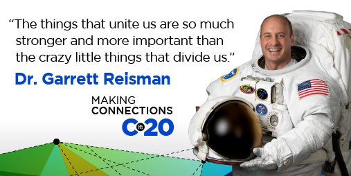 As this year has proven, we are in this together in many ways. Join us September 25-26 to hear Dr. Reisman's insights into overcoming challenges and working as a team. Registration for #WFGC20 is open to everyone, save your spot now https://t.co/MIL2Wt7x1n. https://t.co/PKsG7Kpwtt