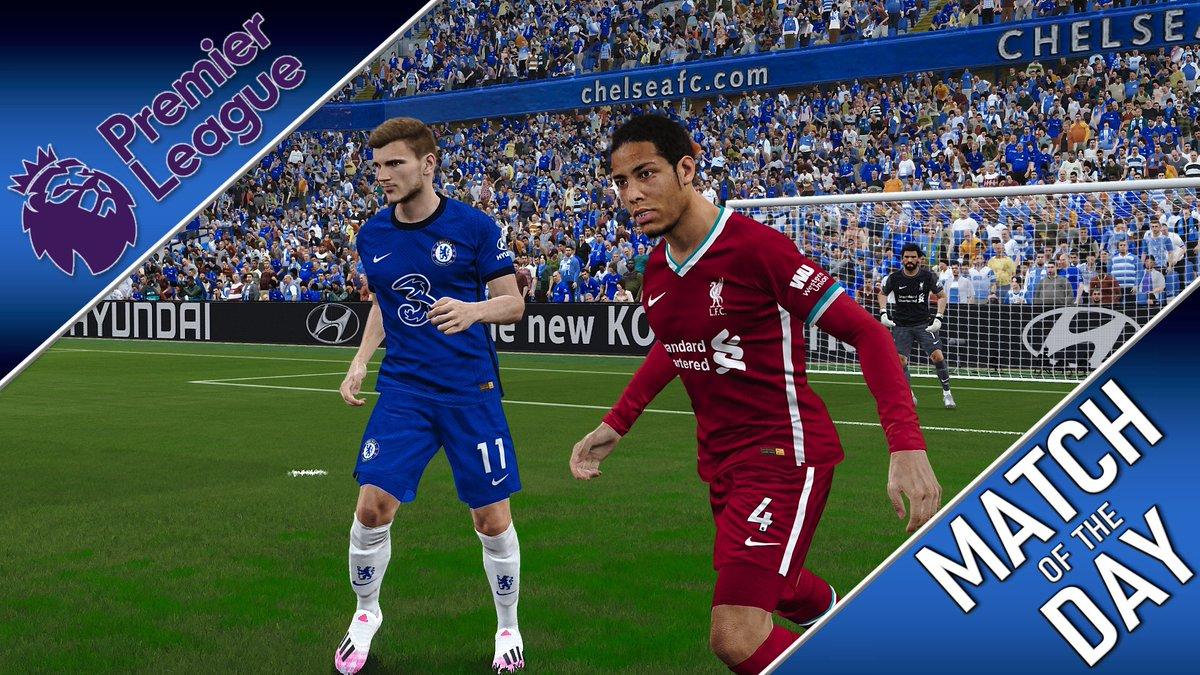 🚨 Premiering Now!!!! 🚨  ⚽️ M a t c h   O f   T h e   D a y ⚽️  Chelsea 🔵 vs 🔴 Liverpool Wolves 🟠 vs 🔵 Man City   🏆 #PremierLeague #EPL  🕗 8.00 GMT 🗓 Matchday 2 🎮 #PES2020 🎤 @stuttsy83 & @_media_journo   ▶️ https://t.co/kd642AmZLd ◀️ https://t.co/VIAZo86wux