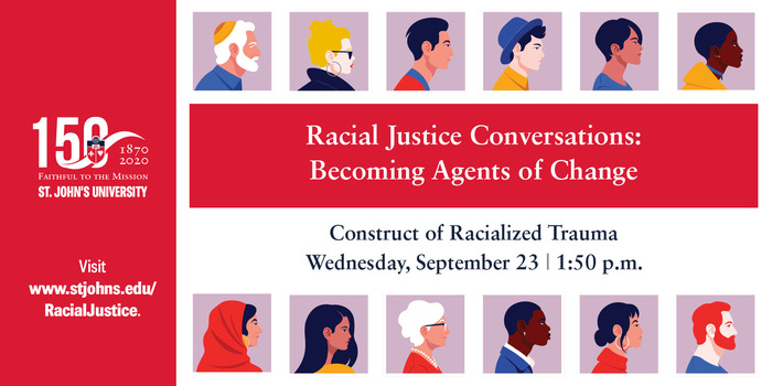 𝕐𝕠𝕦'𝕣𝕖 𝕚𝕟𝕧𝕚𝕥𝕖𝕕! 👩💻 To continue the momentum and much-needed conversations about bias and racism, we're hosting a discussion that explores the impact of race on individuals and communities on Wednesday, September 23rd. Join us: bit.ly/JusticeSession