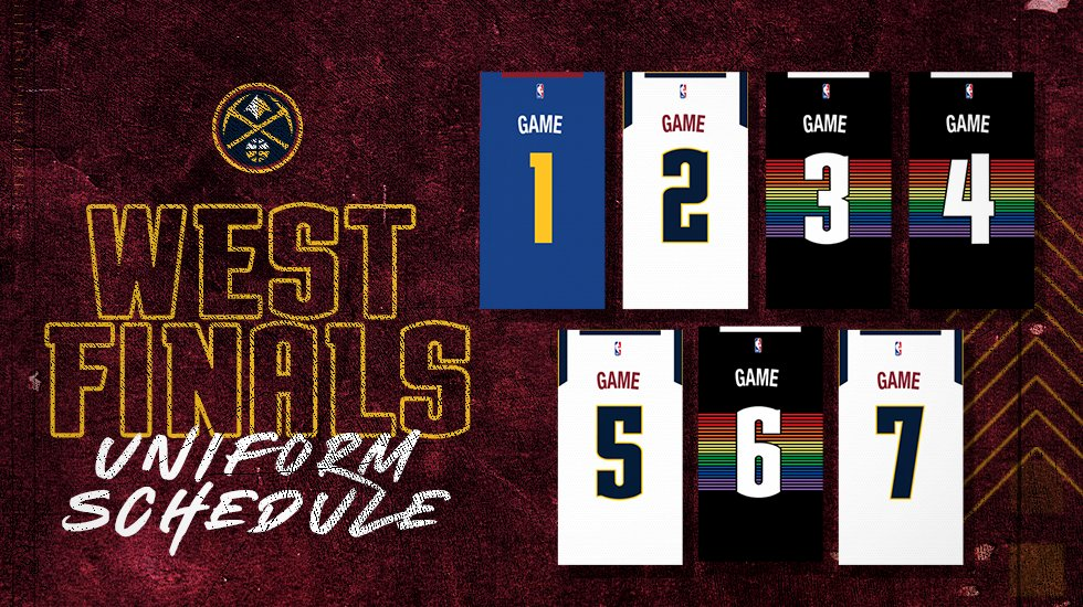 The threads.   #MileHighBasketball https://t.co/TfLiz989mT