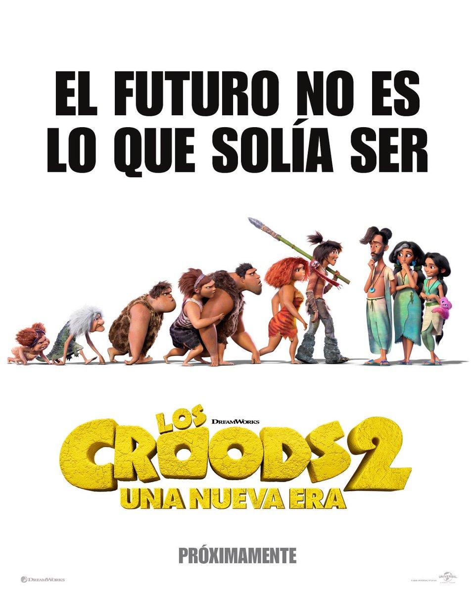 Los Croods están a punto de enfrentar su mayor desafío hasta ahora: ¡Otra familia!   . . . Pronto te traeremos el trailer oficial 😎#TheCroods: Una Nueva Era https://t.co/nM4XTOgZTV
