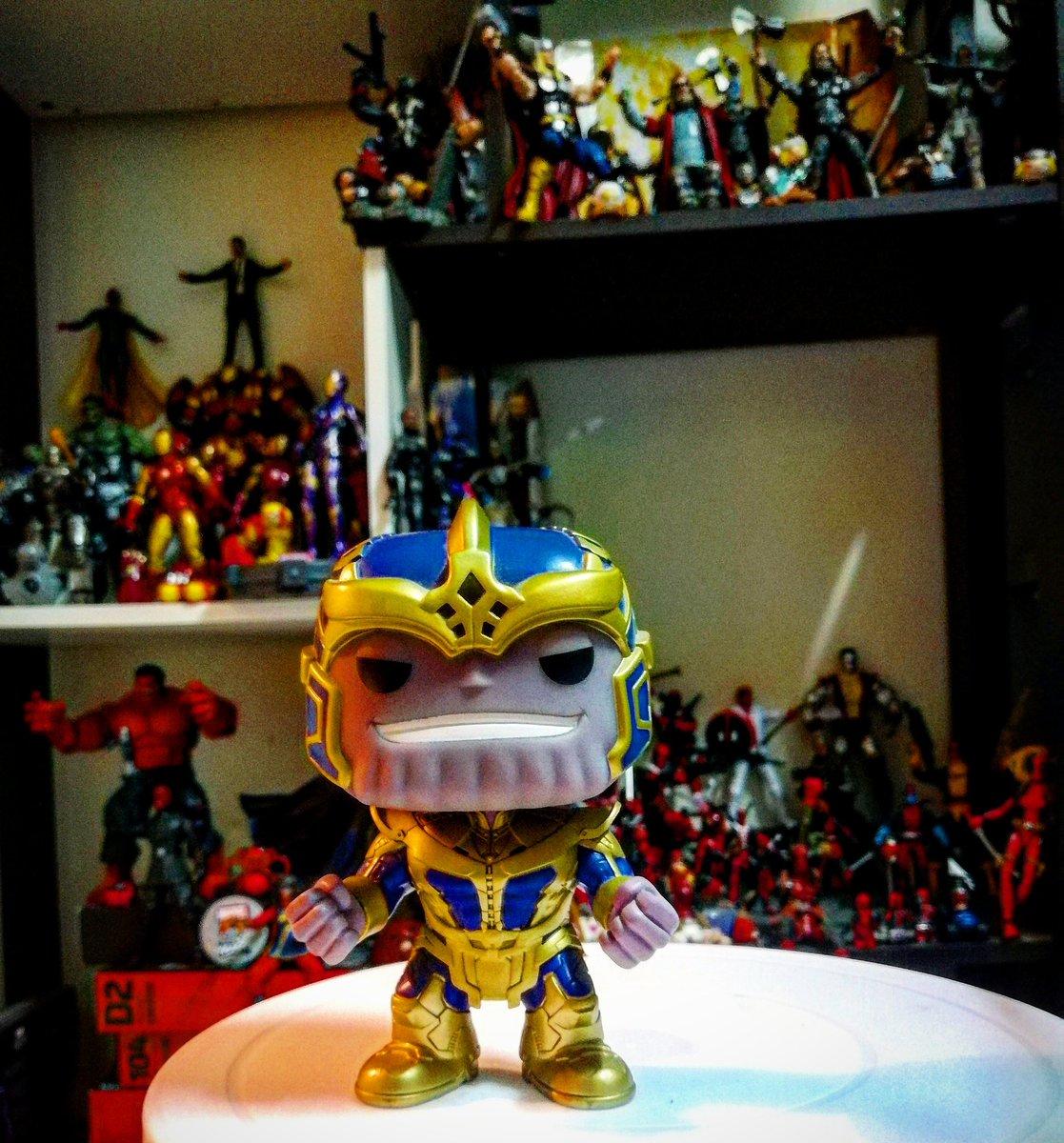 Soldout 🖤 #thanos #funkopop #marvel  #infinitywar #endgame #mycollection #mamcollection #ironman #avengers #captainamerica #xmen #thor #ครั้งหนึ่งเคยมี #blackwidow #warmachine #tonystark #hulk #vision #hulkbuster #doctorstrange #deadpool #spiderman #marvellegends #cosbaby https://t.co/c1FMeIZBy7