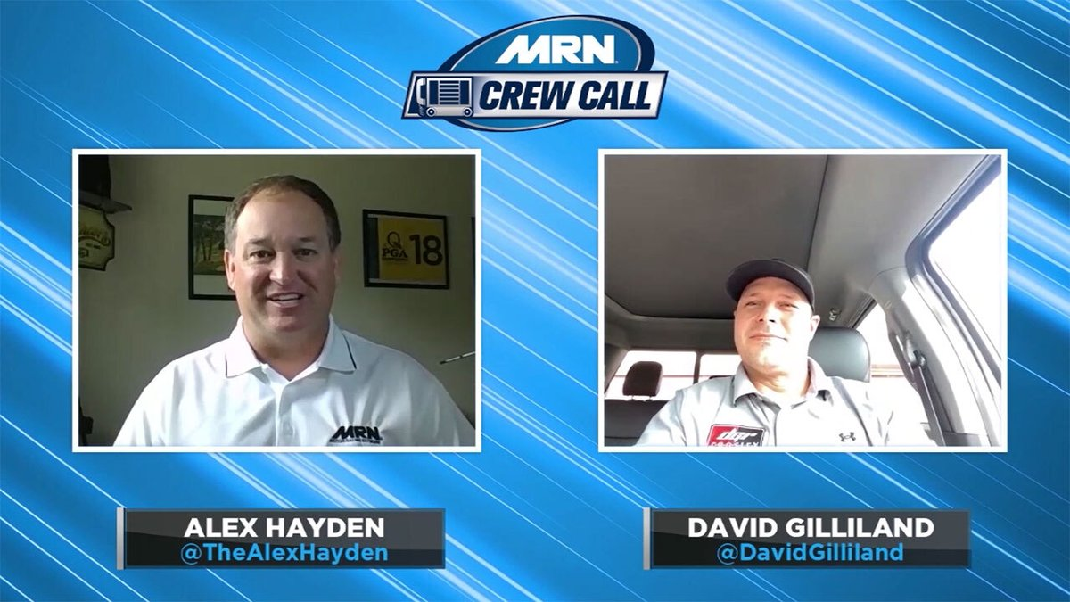MRN Crew Call IS NOW ON DEMAND!   @TheAlexHayden talks with @DavidGilliland about his @ARCA_Racing and @NASCAR_Trucks teams  MRN: https://t.co/InbabJ0qYU Spotify: https://t.co/4xlKJ1jFfj Apple: https://t.co/vDc5hSvCvQ YT: https://t.co/JVU7zGINPk   #AskMRN | #NASCAR https://t.co/XEtDdlUpxP