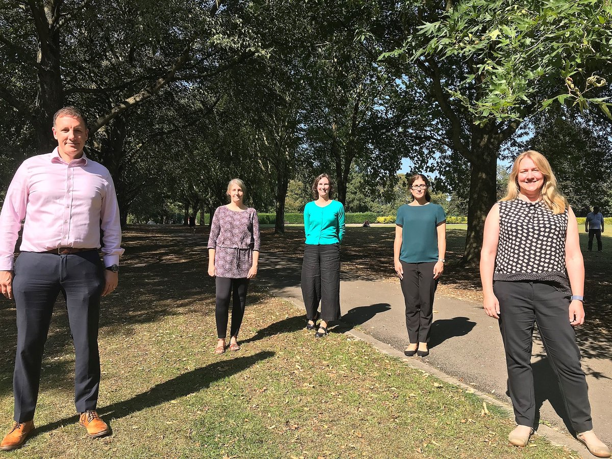 We've got a new climate team here at @wiltscouncil as we seek to be carbon neutral by 2030 and mitigate the environmental impacts associated with our services. The team, from L-R: Ceri; Naomi; Ariane, Head of Carbon Reduction; Louisa; and Vicky. 🌍 https://t.co/vGQQE6rpOr