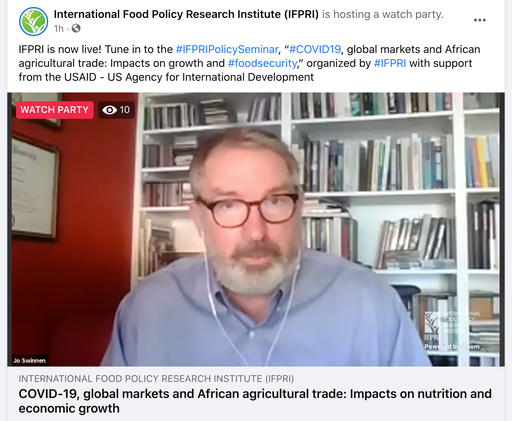 @USAID @SEATINIUGANDA @JoeGlauber1 @Jo_Swinnen @USAIDAfrica @USAIDGH @CGIAR @CGIARnutrition @Jo_Swinnen  4. Traditional policy recommendations remain important - e.g. reducing trade restrictions 5. Importance of data and information. 2/2 https://t.co/XtnD54SA00