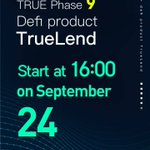 Image for the Tweet beginning: TrueLend phase 9 will be