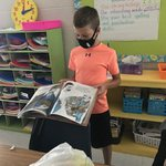 Image for the Tweet beginning: Third grade bag book reports