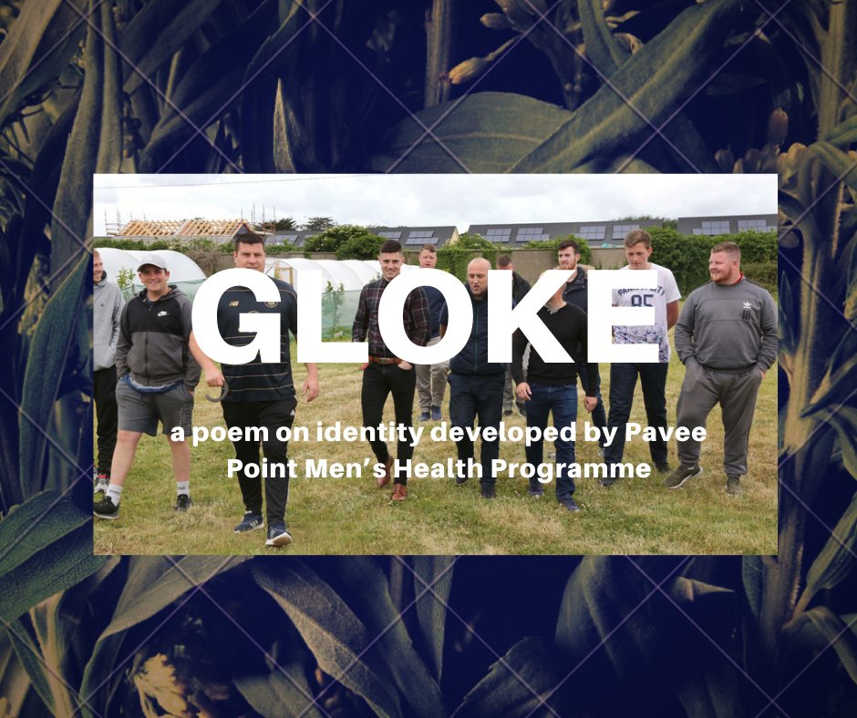 Here is the link for @PaveePoint live video premiere of 'Gloke' tomorrow at 6pm for #CultureNight2020 https://t.co/VzgpB4tmyI #TravellerMen #TravellerHealth @thepoetGeoff @poetryireland @MensHlthNetwork @MHReform @MentalHealthIrl @SpunOut https://t.co/tk6cECSVPv