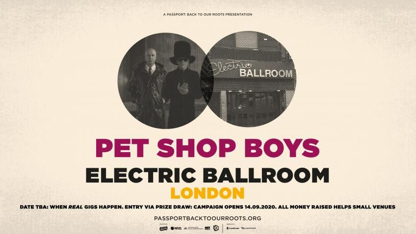 Wow! @petshopboys have nearly reached their @crowdfunderuk target already! 😲 Don't forget to pledge £5 to be entered into the prize draw to see them at London's @EBallroomCamden. More info 👉 https://t.co/N5j1yXmKBV #saveourvenues #backtoourroots https://t.co/7YpRjSG5gR