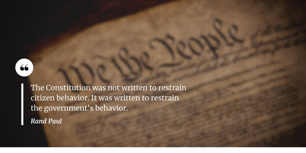 Happy #constitutionday2020! Let's always remember that protecting the Constitution protects our liberties. https://t.co/0Zn5pjpQA3