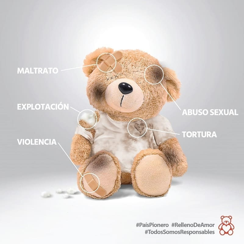 #RellenoDeAmor 🐻❤️🇵🇾 Estamos trabajando para erradicar la violencia hacia niñas, niños y adolescentes👶👧👦.  #HacéTuParte #PaísPionero #TodosSomosResponsables https://t.co/PWSNXobziN