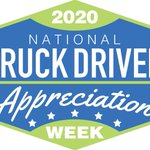 Image for the Tweet beginning: It's National Truck Driver Appreciation