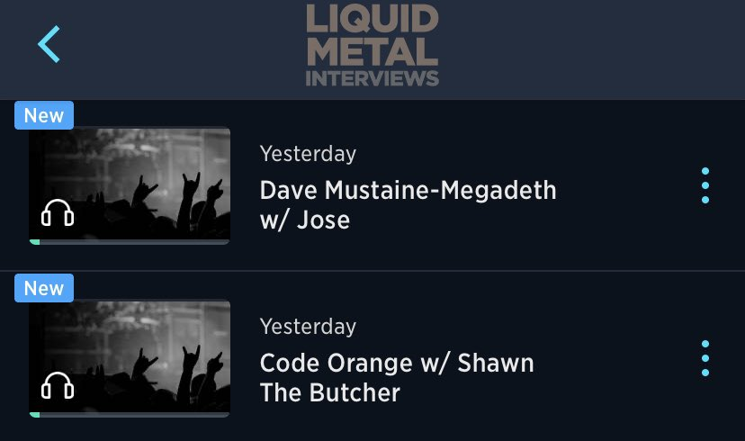 Now available on demand on the @SIRIUSXM app!!