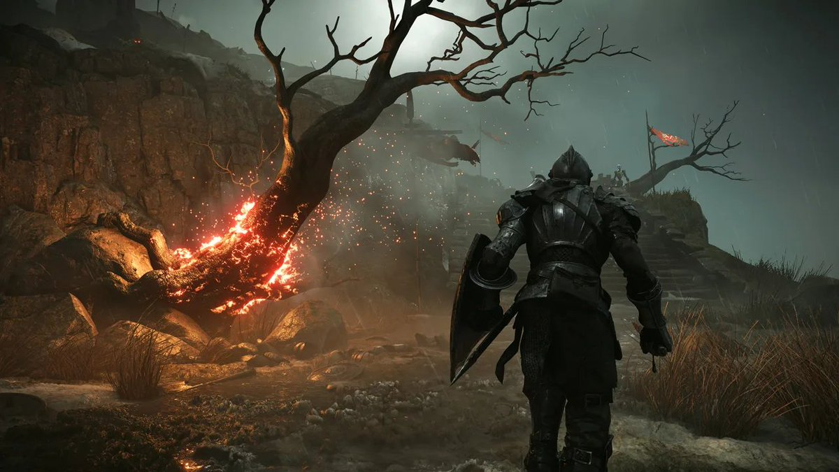 @DarkSoulsGame What did you think of your big brother's gameplay trailer, Dark Souls? 🤔 https://t.co/ej5now69BT
