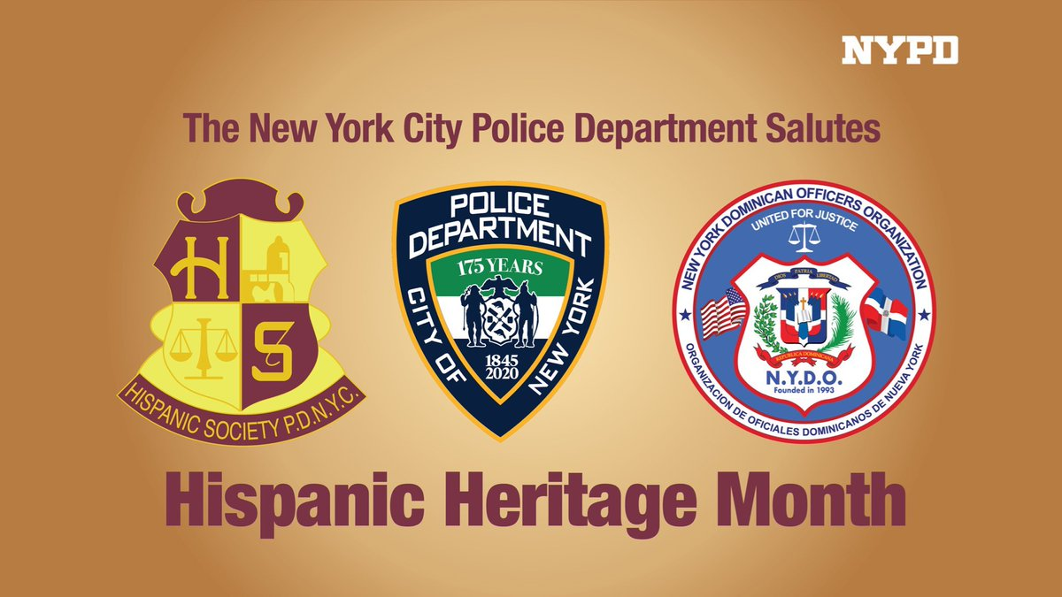 Wishing all a happy #HispanicHeritageMonth as we celebrate the diversity and traditions of the thousands of Hispanic NYPD officers and all Hispanic New Yorkers. https://t.co/mpyMKiuf4J