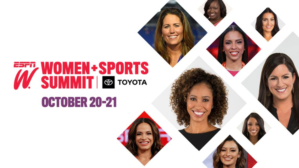 It's almost time for our 11th annual Women + Sports Summit, and we want you to (virtually) join us!  Register for free: https://t.co/GlhJHKlUvK https://t.co/pRsb3gMU4B
